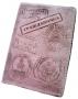 """Обложка на паспорт """"Гражданочка"""" виза (серо-роз.) 14-03-14"""