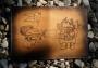 """Обложка для паспорта """"Дух приключений"""" (печать) 14-15-08"""