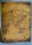 """Обложка на паспорт (печать) """" Карта мира"""" 14-07-01"""