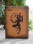 """Обложка для паспорта """"Джокер"""" 14-06-02"""