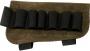 Патронташ на приклад на 6 патронов коричневый 5081/2